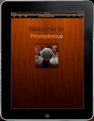 Prompterous iPad App | BIZ BUZZ for Start-up, Small and Medium sized Food Businesses. | Scoop.it