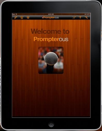Prompterous iPad App | using ipad in the classroom | Scoop.it