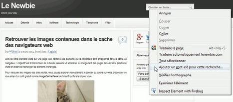 Tutoriel : ajouter la recherche d'un site web à votre navigateur Chrome ou Firefox | François MAGNAN  Formateur Consultant | Scoop.it
