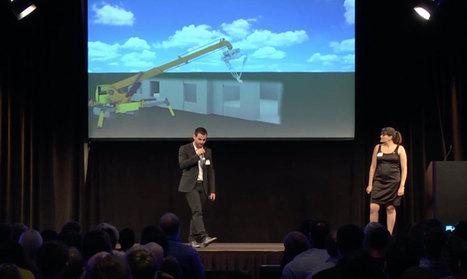 [Pépite à suivre] Tridom veut automatiser la construction avec sa plateforme robotique multitâche | innovation-beton | Scoop.it