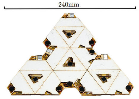 Swarm of Origami Robots Can Self Assemble Out of a Single Sheet | Heron | Scoop.it