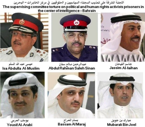Here are the Mug-shots of Bahraini Torturers! | Human Rights and the Will to be free | Scoop.it