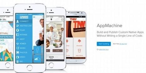 AppMachine, para crear aplicaciones móviles nativas sin escribir código | Creación de contenidos | Scoop.it