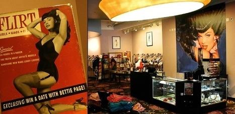 A Garota Pin-up mais famosa do mundo inspira grife e loja de moda retrô nos EUA | Garota Pin-Up | Scoop.it