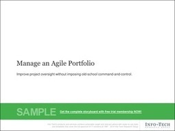 Manage an Agile Portfolio | ERP - Not Mess It All | Scoop.it