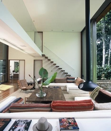 Une maison d'architecte au Bresil | | PLANETE DECO a homes worldPLANETE DECO a homes world | Céka décore | Scoop.it