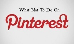 What Not To Do On Pinterest - Write On Track | Pinterest | Scoop.it
