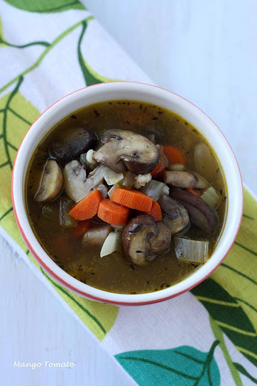 Mango & Tomato: Recipe for Mushroom Barley Soup | food | Scoop.it