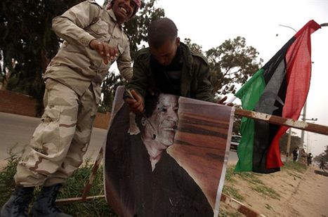 Gaddafi tells West to stay out of Libya | Coveting Freedom | Scoop.it