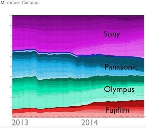 L'année 2014 en statistiques chez Flickr : les marques et boîtiers | Flash instantané | Scoop.it