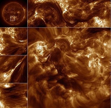 Telescópio faz imagens que revelam como o Sol armazena e libera energia - Globo.com | Science, Technology and Society | Scoop.it