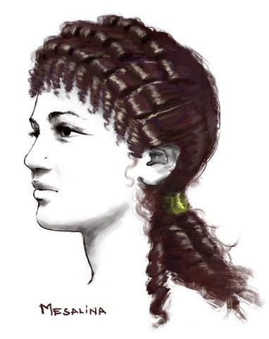 Los cabellos peinados de las romanas | Cultura Clásica | Scoop.it