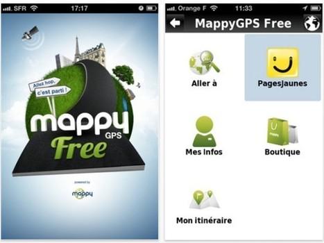Mappy GPS Free, un GPS gratuit pour iOS et Android | netnavig | Scoop.it