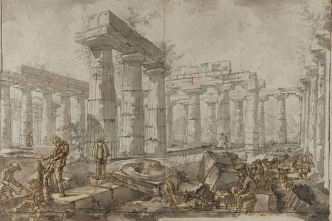 Review of 'Piranesi and the Temples of Paestum: Drawings From Sir John Soane's Museum' at the Morgan Library & Museum | Mundo Clásico | Scoop.it