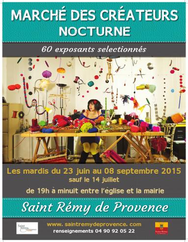 Le Marché Artisanal Nocturne des Créateurs   Saint Rémy de Provence Tourisme   Scoop.it