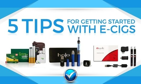 5 Tips To Get Started With eCigs | Topics We Found Useful & Interesting | Scoop.it