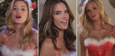 Les Victoria's Secret vous souhaite joyeux Noël à leur façon ! | Who's Open | Scoop.it