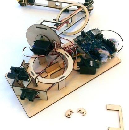 "Arduino Blog » Blog Archive » Make your lasercut datamonster with Intel Galileo | L'impresa ""mobile"" | Scoop.it"