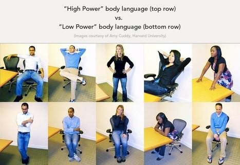 Utilisez votre non verbal pour augmenter votre confiance | Neurosciences et psycho | Scoop.it