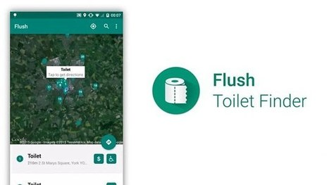 Never get caught short again! App helps you find your nearest toilet | Kickin' Kickers | Scoop.it