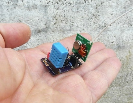 ATtiny85 based mini weather station - Embedded Lab | Arduino, Netduino, Rasperry Pi! | Scoop.it