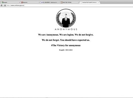 Anonymous Ecuador: vuelve hacktivismo a sitios de Gobierno | Cobertura Digital | Anonymous Ecuador | Scoop.it