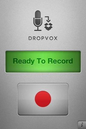 DropVox - Record Voice Memos to Dropbox Available for Download - App Review for iPhone | Teaching students with Intellectual and Learning  disabilities in Vocational Education | Scoop.it