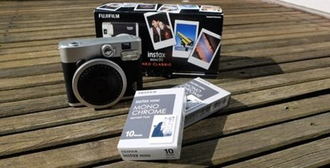 """""""instax mini film Monochrome"""" A new film that expands the possibilities of photographic expression using instax film 