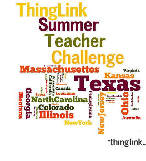 Cool Tools for 21st Century Learners: Rounding Up a Community of Learners with the ThingLink Teacher Challenge | Cool Tools for 21st Century Learners | Scoop.it
