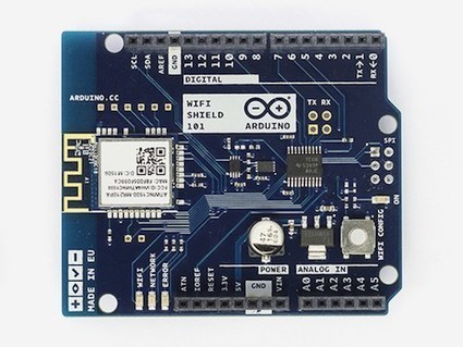 The Arduino Wi-Fi Shield 101 is now available   Atmel   Bits & Pieces   Raspberry Pi   Scoop.it