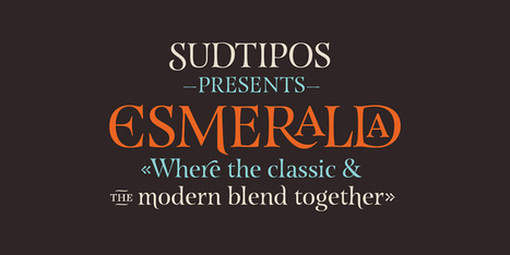 Esmeralda Pro - Webfont & Desktop font « MyFonts | Fuentes | Scoop.it