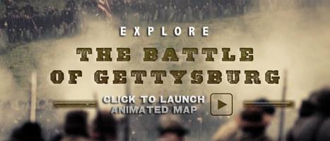 Gettysburg Animated Map | sound symbol | Scoop.it