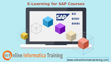 SAP BO Training Online with Experienced Faculty | Build your bright career with online training by online informatica training institute | Scoop.it