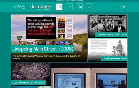 Docubase: a new database about interactive documentary | Stories - an experience for your audience - | Scoop.it