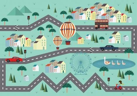Le bonheur est dans la ville ! | Fact. Disruptive Transmedia Network | Scoop.it