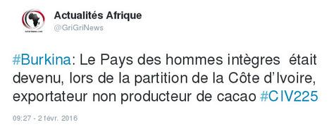 Le Pays des hommes intègres était devenu, lors de la partition de la Côte d'Ivoire, exportateur non producteur de cacao | Actualités Afrique | Scoop.it