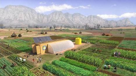 It's a 2-acre farm, packed into a shipping container that doubles as a farm building | Vertical Farm - Food Factory | Scoop.it