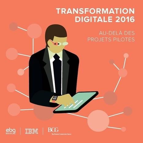 IBM – Etude avec l'EBG et le BCG : Transformation Digitale 2016 - France | Initiatives de banques | Scoop.it