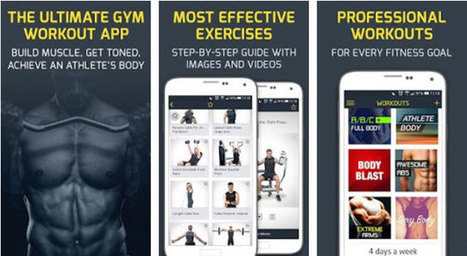 The 5 Best Weightlifting App for Android 2016 [Free Health Apps] | Jazzy Look | Scoop.it
