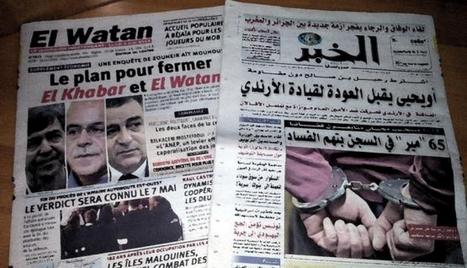 Les entreprises de presse soumises à rude épreuve enAlgérie | DocPresseESJ | Scoop.it