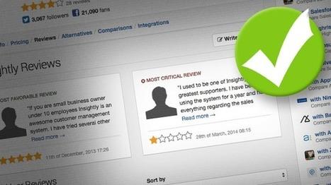 92% des consommateurs lisent les avis en ligne avant achat ou réservation | Social Media Curation par Mon-Habitat-Web.com | Scoop.it