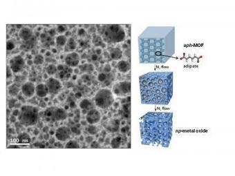 Hierarchically nanoporous frameworks of nanocrystalline metal oxides for exceptionally high CO2 adsorption   Amazing Science   Scoop.it