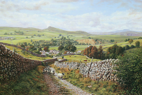 Artist,K Melling  paintings, pictures and prints of Yorkshire Dales England | Wonderful Artwork And Images | Scoop.it