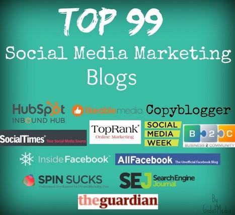 Top 99 Social Media Marketing Blogs List   Content Marketing Blogs   Scoop.it