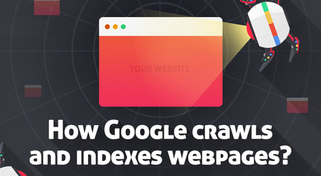 How Google's Spiders Crawl and Index Web Pages - Infographic | Linking Literacy & Learning: Research, Reflection, and Practice | Scoop.it