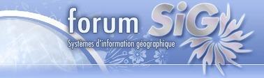 Bienvenue sur le Forum SIG - Systèmes d'information géographique. Communauté d'entraide, Newsletter, Espaces thématiques | Portail de veille en Géomatique de l'ADEUPa | Scoop.it