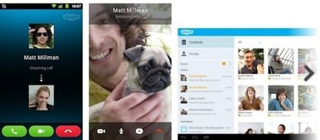 Skype anuncia la versión para tabletas Android | Teaching Foreign Languages | Scoop.it