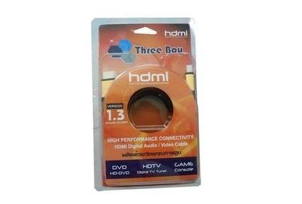 Cable HDMI M/M V.1.3 (5M) Gold Three Boy - สินค้าไอที IT Accessories computer ราคาถูก : Inspired by LnwShop.com | สินค้าไอที,สินค้าไอที,IT,Accessoriescomputer,ลำโพง ราคาถูก,อีสแปร์คอมพิวเตอร์ | Scoop.it