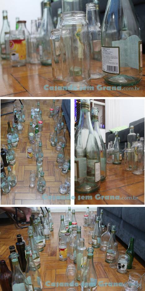 Tutorial | Como pintar garrafas de vidro | Artesanato_Lia | Scoop.it
