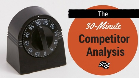 Quick Competitor Analysis in 30 Minutes or Less | Pole Position Marketing | SEO | Scoop.it